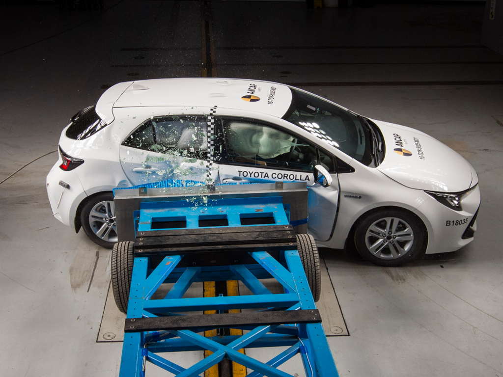 New generation Toyota Corolla makes a leap forward in safety.
