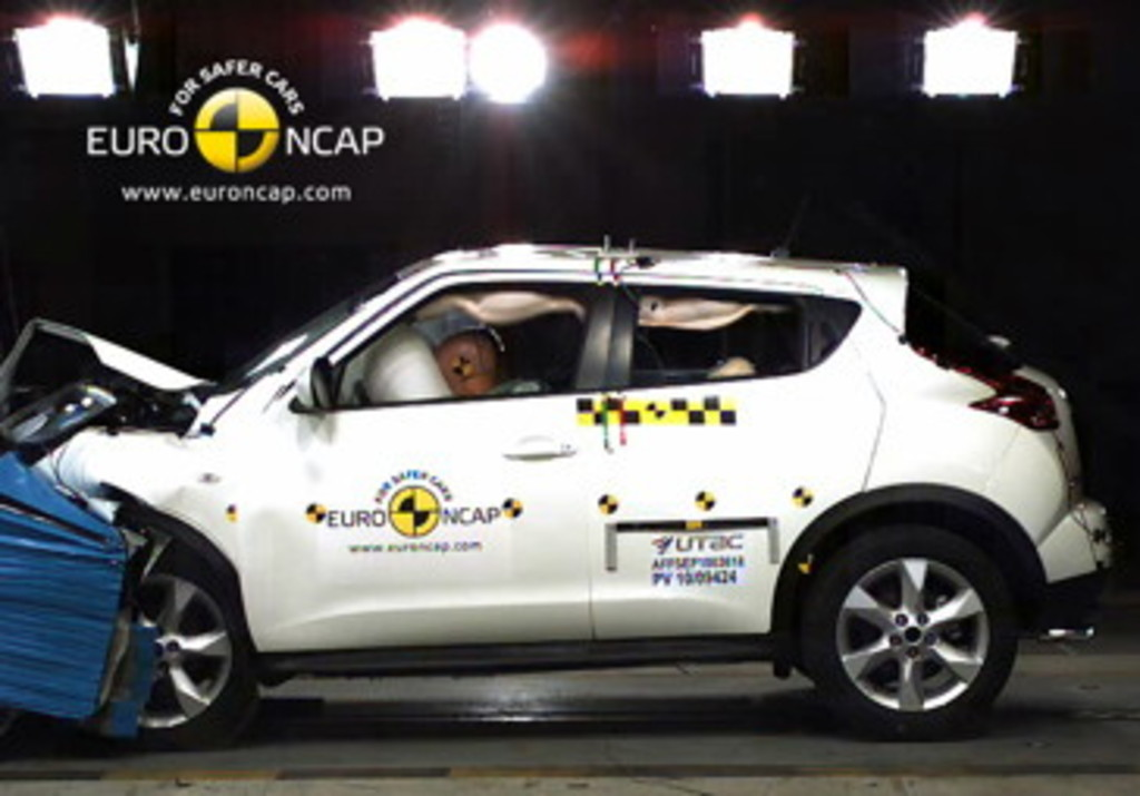 Nissan scores a safety double