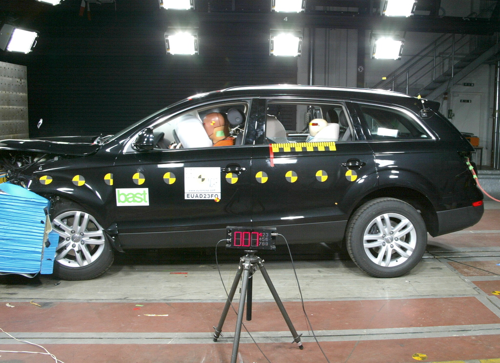 Audi Q7 | 4 Star ANCAP Safety Rating