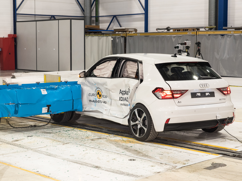 Audi A1 raises benchmark for collision avoidance in light car segment.
