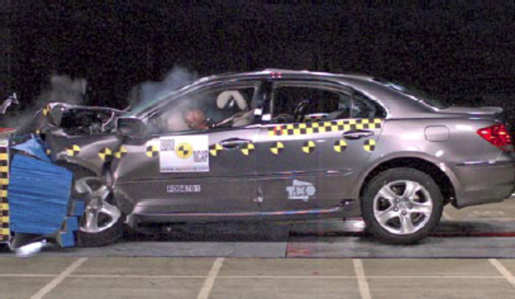 Honda Legend 2006 2008 Crash Test Results Ancap