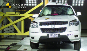 Holden Colorado | 5 Star ANCAP Safety Rating