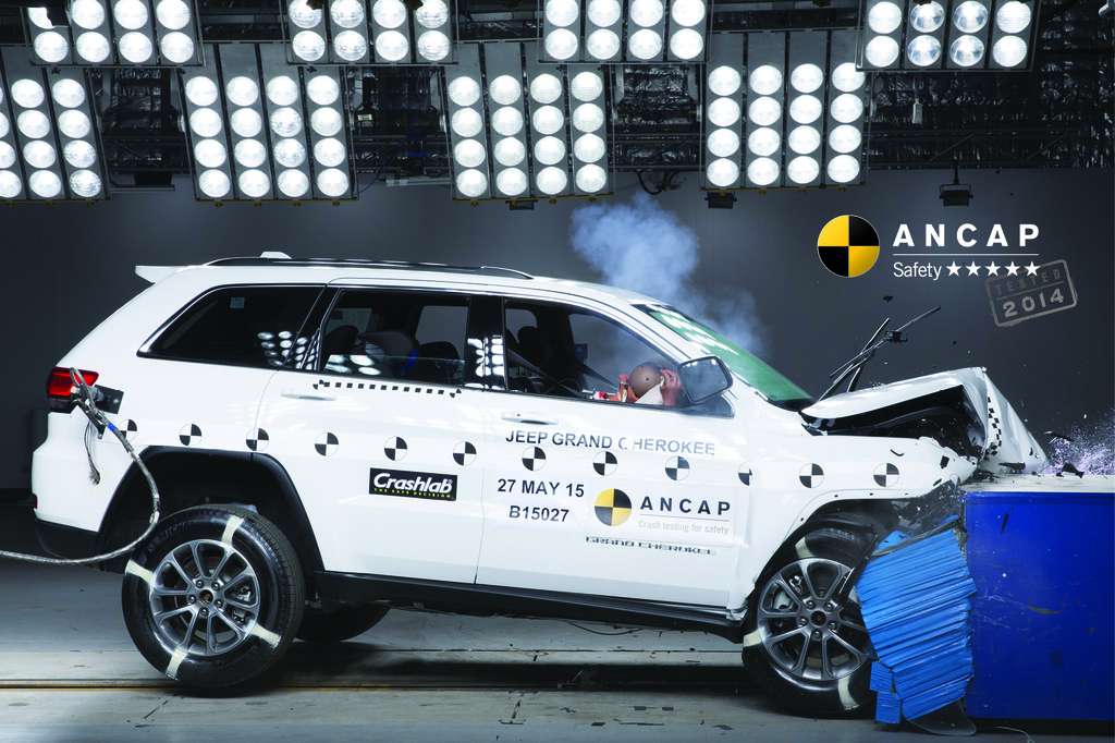 jeep grand cherokee mar 2013 onwards crash test results ancap. Black Bedroom Furniture Sets. Home Design Ideas