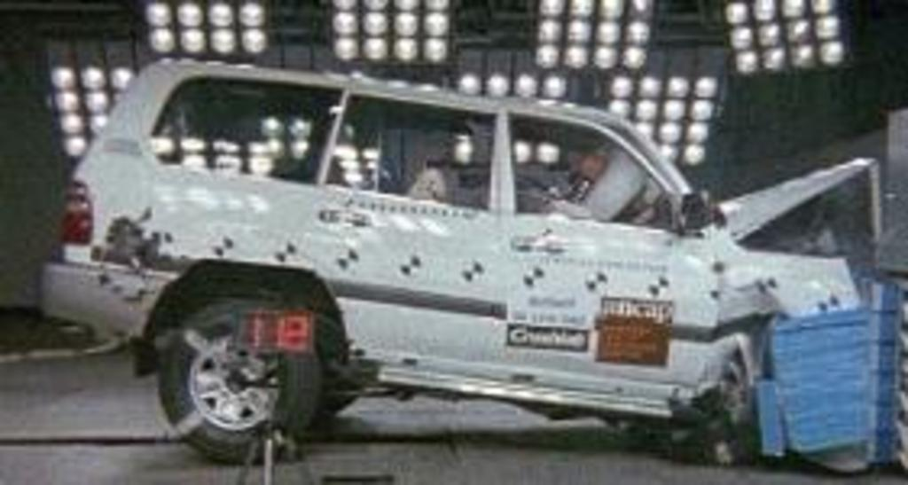 Toyota Landcruiser | 4 Star ANCAP Safety Rating
