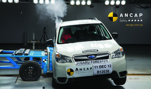 Subaru Forester | 5 Star ANCAP Safety Rating