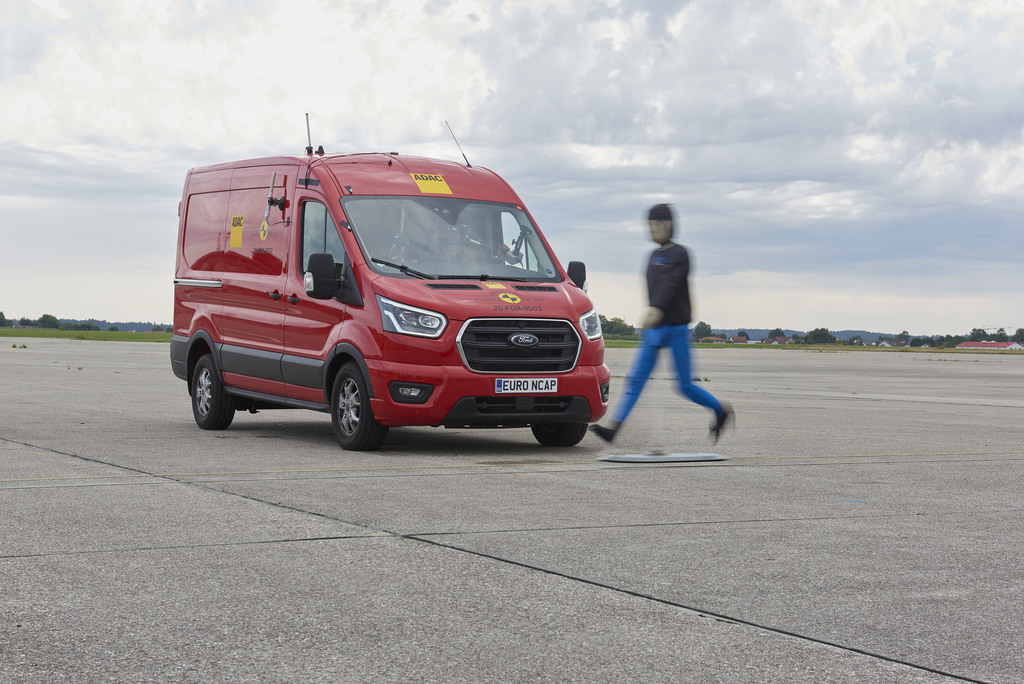 Commercial van safety put to the test for the first time.