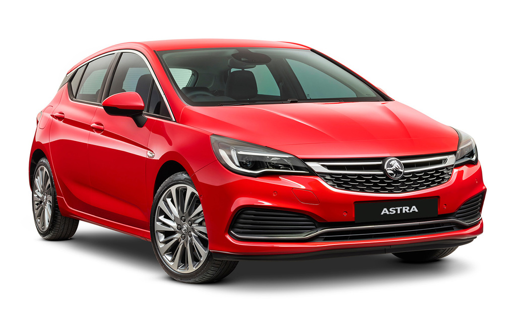Holden Astra | 5 Star ANCAP Safety Rating