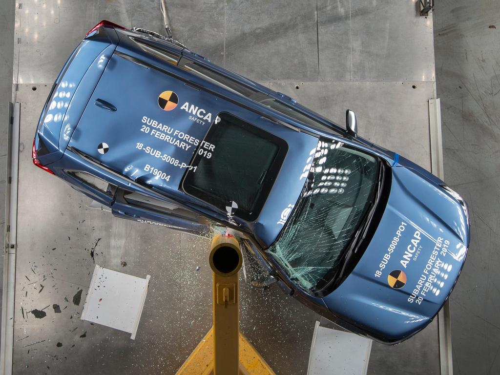 Subaru Forester (Sep 2018 – onwards) Crash Test Results | ANCAP