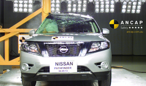 Nissan Pathfinder | 5 Star ANCAP Safety Rating