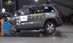 Jeep Grand Cherokee | 4 Star ANCAP Safety Rating