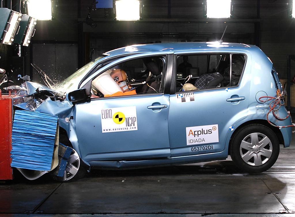 Daihatsu Sirion Test