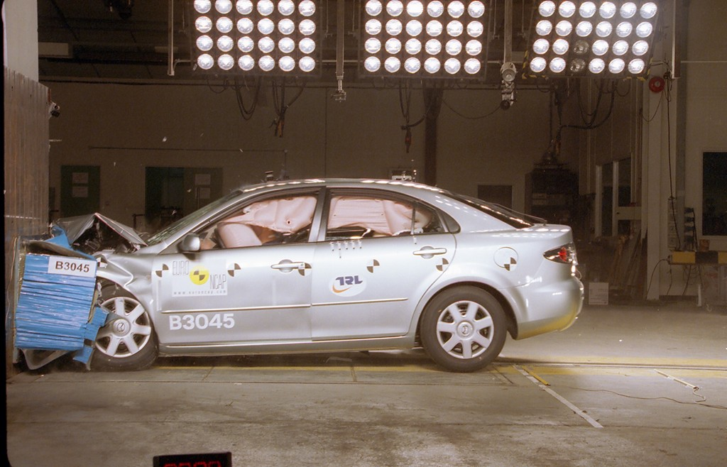 Mazda 6 | 4 Star ANCAP Safety Rating