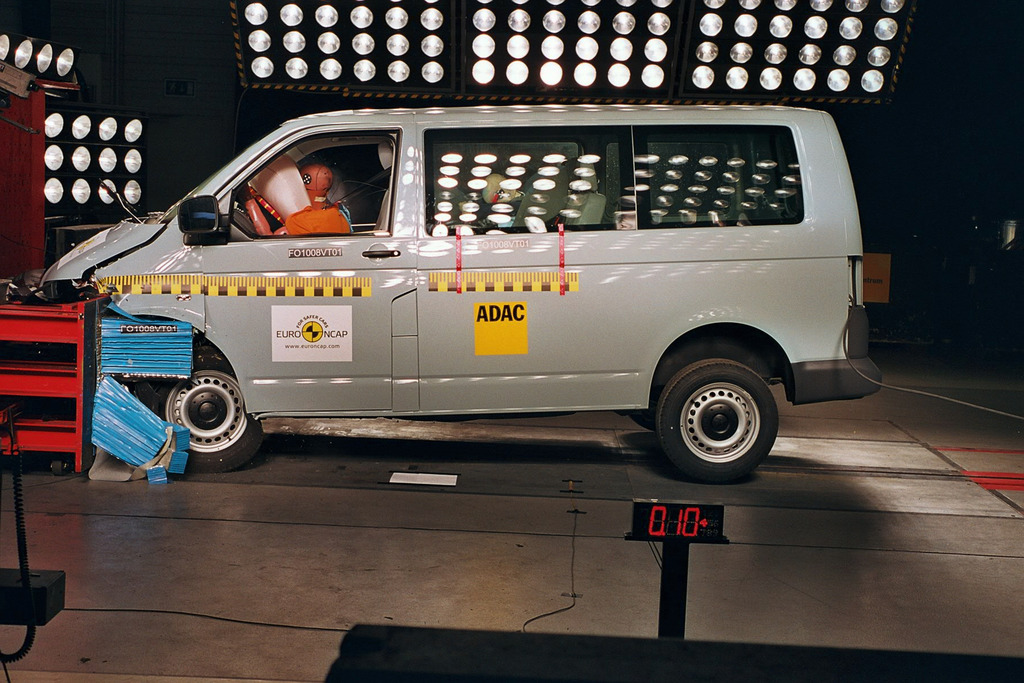 Volkswagen Transporter | 4 Star ANCAP Safety Rating