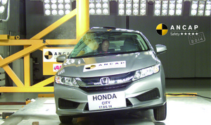 Honda City | 5 Star ANCAP Safety Rating