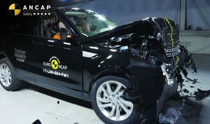 Land Rover Discovery | 5 Star ANCAP Safety Rating