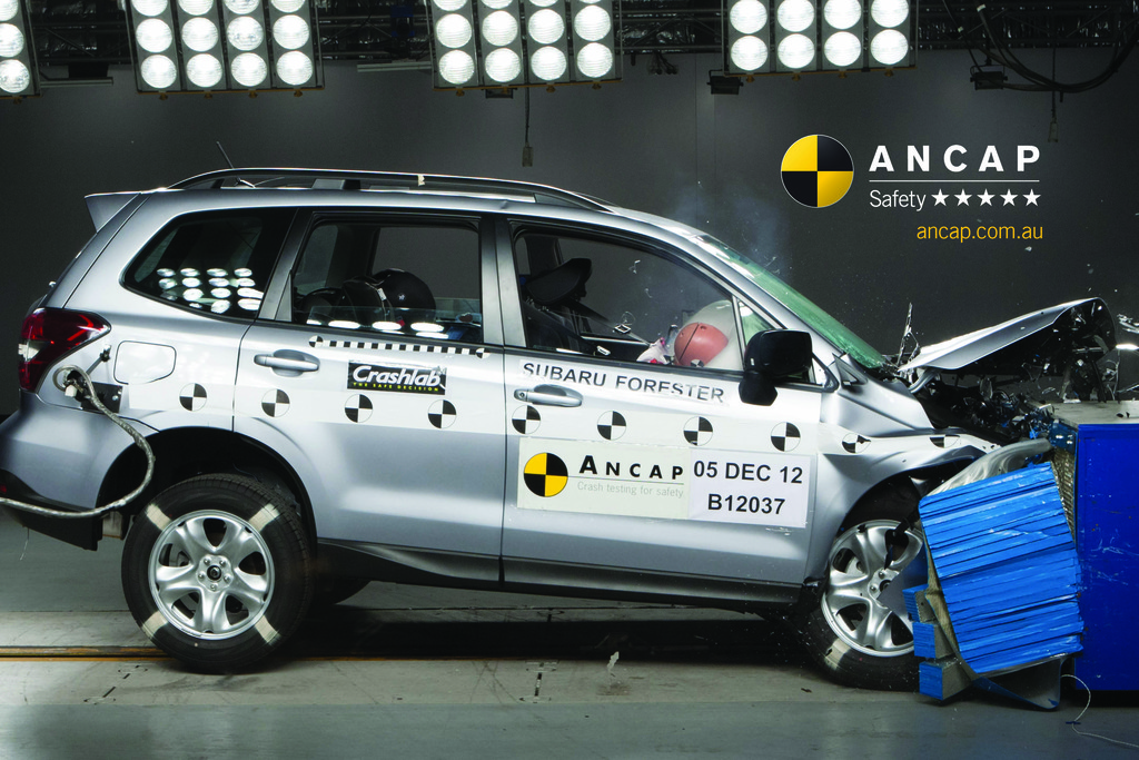 Subaru Forester (2013 – Aug 2018) Crash Test Results | ANCAP
