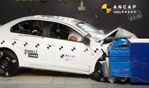 Mitsubishi Lancer | 5 Star ANCAP Safety Rating