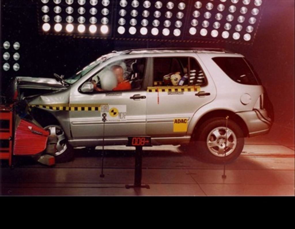 Mercedes-Benz M-Class | 4 Star ANCAP Safety Rating