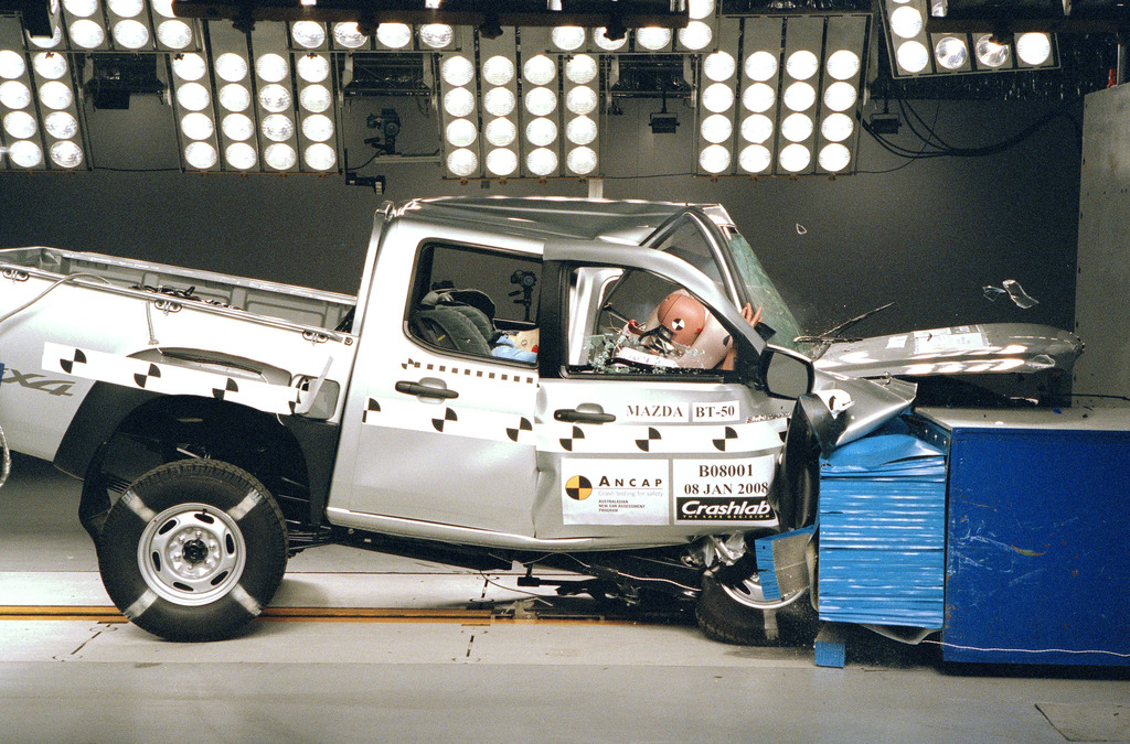 ford ranger jul 2007 sep 2011 crash test results ancap. Black Bedroom Furniture Sets. Home Design Ideas