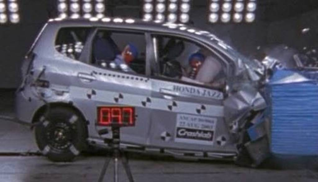 Superior Honda Jazz   4 Star ANCAP Safety Rating