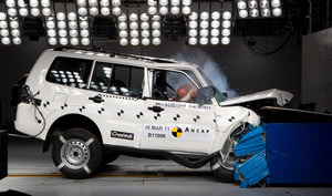 Mitsubishi Pajero | 4 Star ANCAP Safety Rating