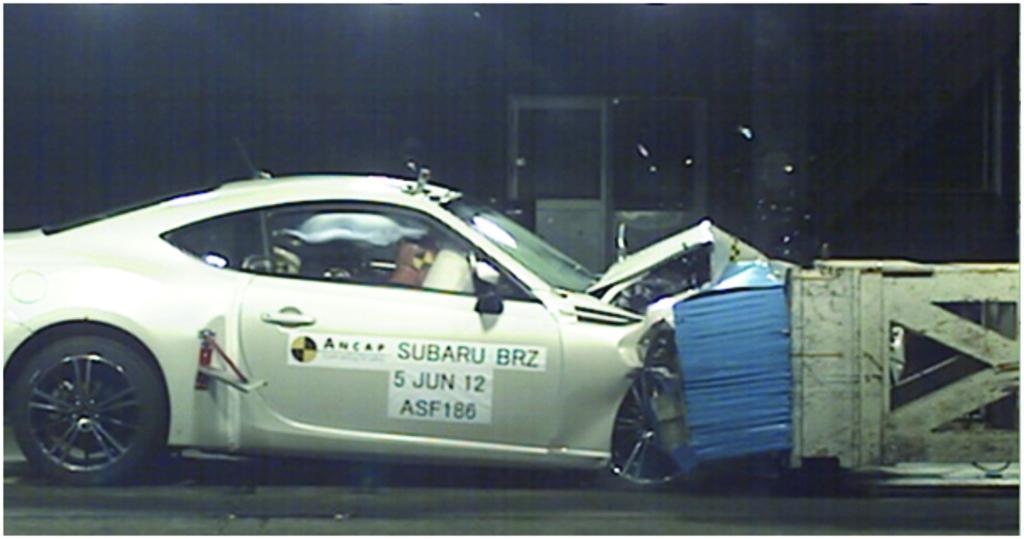 Subaru Brz 2012 Onwards Crash Test Results Ancap