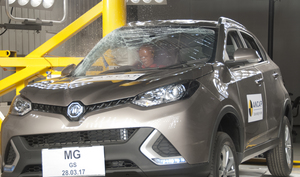 MG GS | 5 Star ANCAP Safety Rating
