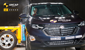 Holden Equinox | 5 Star ANCAP Safety Rating
