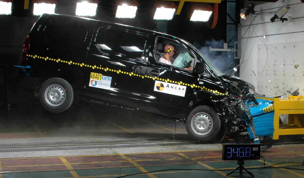 Hyundai iMax | 4 Star ANCAP Safety Rating