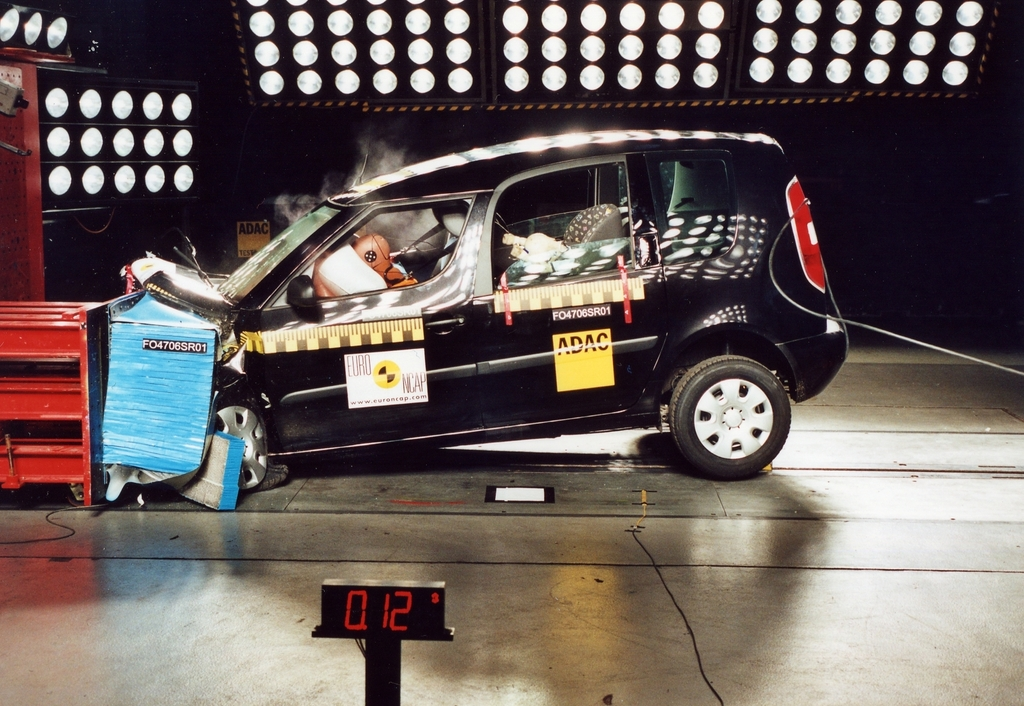 Skoda Roomster | 5 Star ANCAP Safety Rating