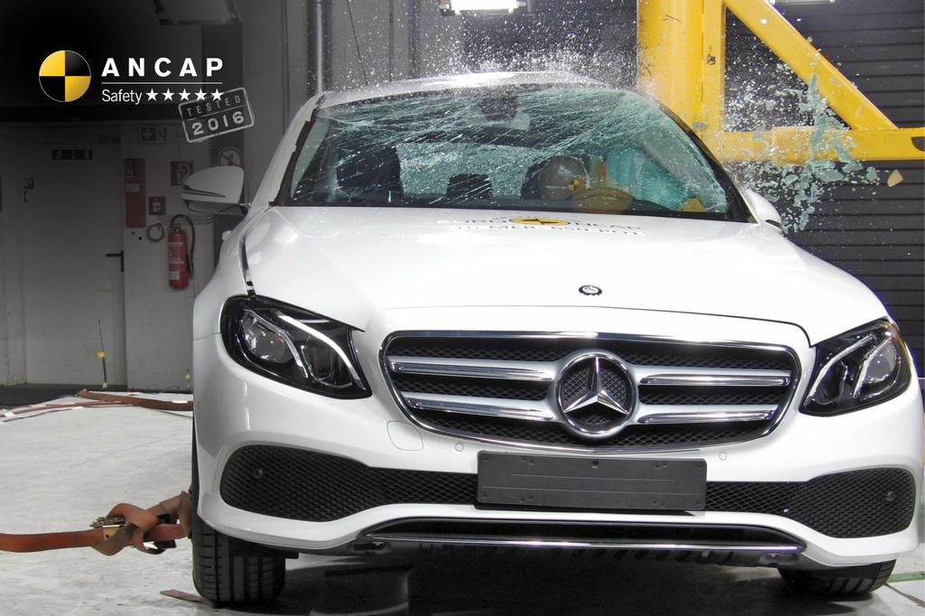 Mercedes benz e class jul 2016 onwards crash test for Mercedes benz safety rating