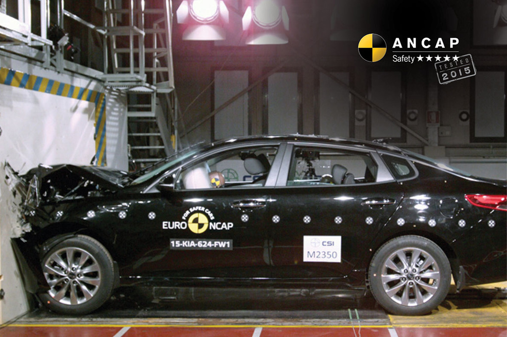 ANCAP's market coverage grows to 93% with top ratings for Suzuki Vitara and Kia Optima