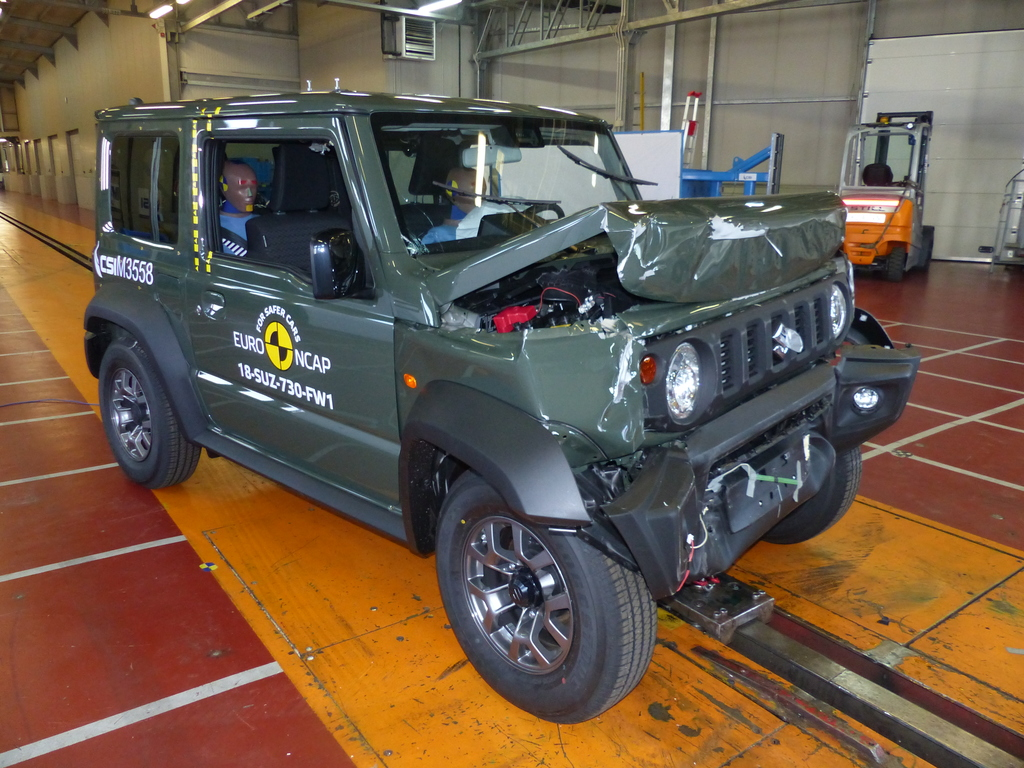 3 stars for new Suzuki Jimny.