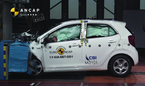 Kia Picanto | 4 Star ANCAP Safety Rating