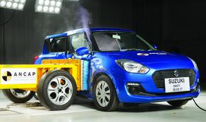 Suzuki Swift | 4 Star ANCAP Safety Rating