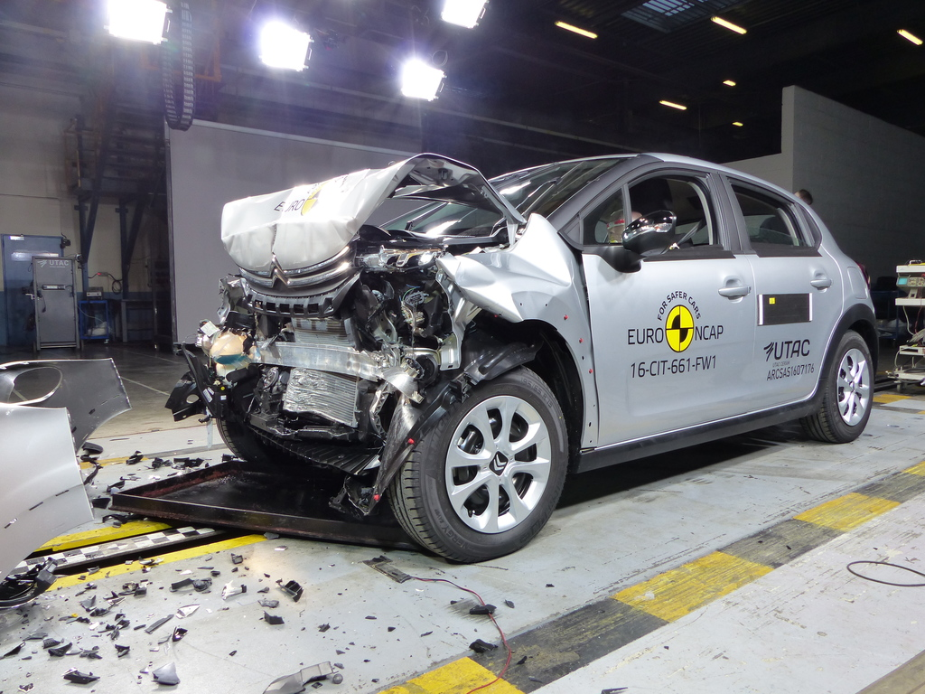 Alfa Romeo Stelvio and Giulia achieve highest occupant protection scores while Citroen C3 let down.