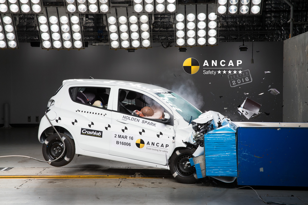 Holden Spark | 5 Star ANCAP Safety Rating