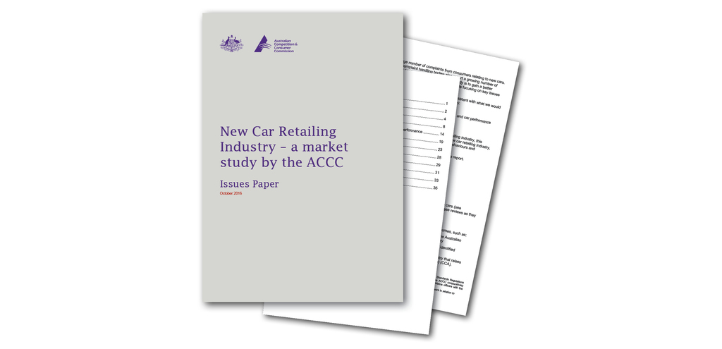 Safety must be considered as part of ACCC study into new car retailing