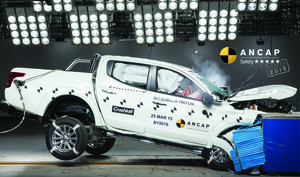 Mitsubishi Pajero Sport | 5 Star ANCAP Safety Rating