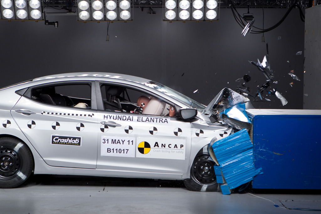 Hyundai Elantra (2011 – Jan 2016) Crash Test Results | ANCAP