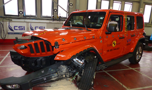 Jeep Wrangler | 1 Star ANCAP Safety Rating