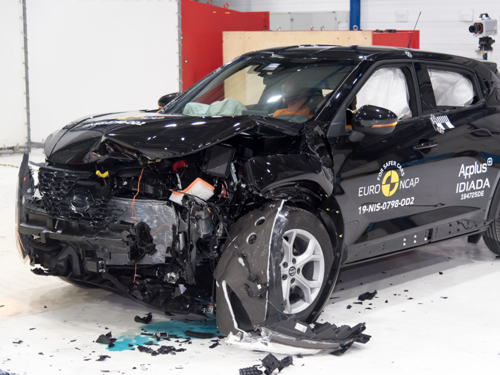Five star safety performance for new Nissan Juke.