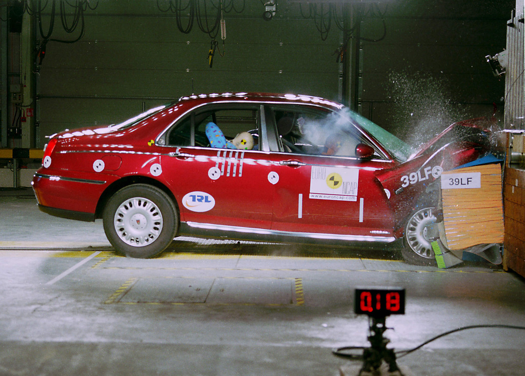 MG Rover Rover 75 | 4 Star ANCAP Safety Rating