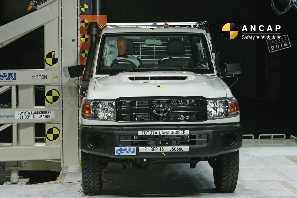 Toyota Landcruiser Cab Chassis