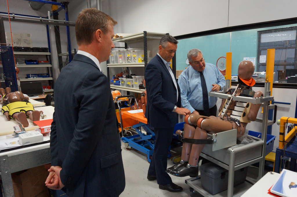 MINISTERIAL MEDIA RELEASE: Expanding local crash test capability to encourage safer cars for Australia.