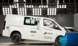 Toyota Hiace | 5 Star ANCAP Safety Rating