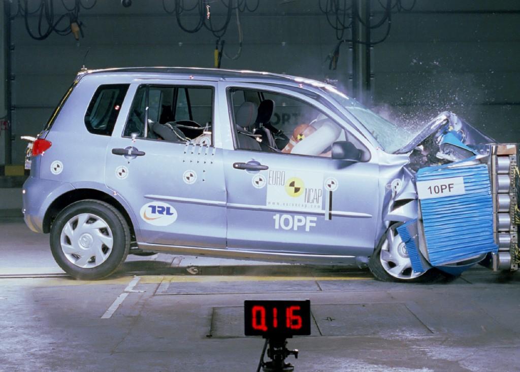 Mazda 2 (Jul 2003 – Jun 2007) Crash Test Results   ANCAP