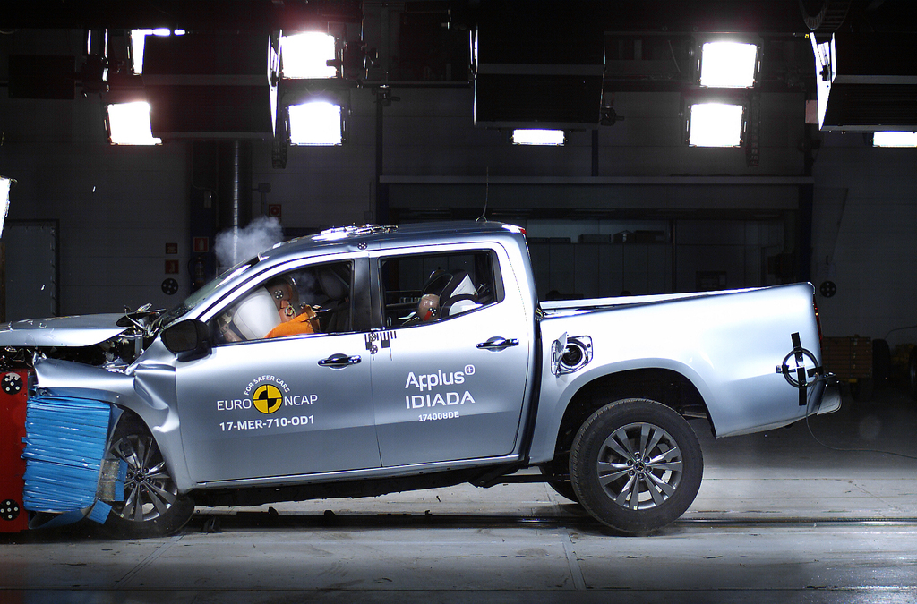 Mercedes X-Class the first ute to offer autonomous emergency braking.