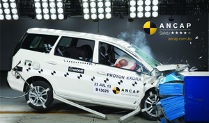 Proton Exora | 4 Star ANCAP Safety Rating