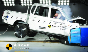 Mahindra Pik-Up | 3 Star ANCAP Safety Rating